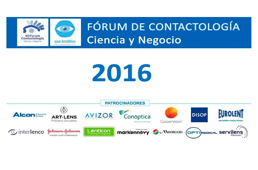 Invitación al Forum de Contactología 2016
