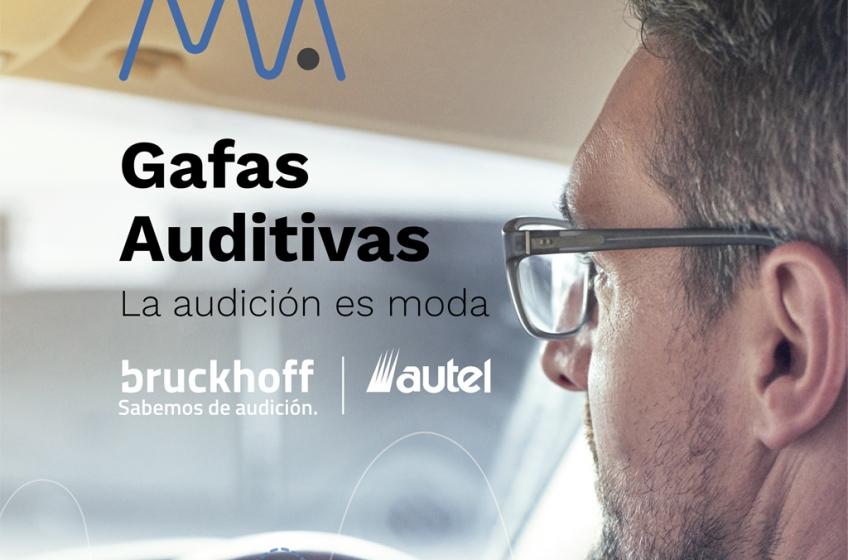 Gafas Auditivas. Cuando la audición es moda.