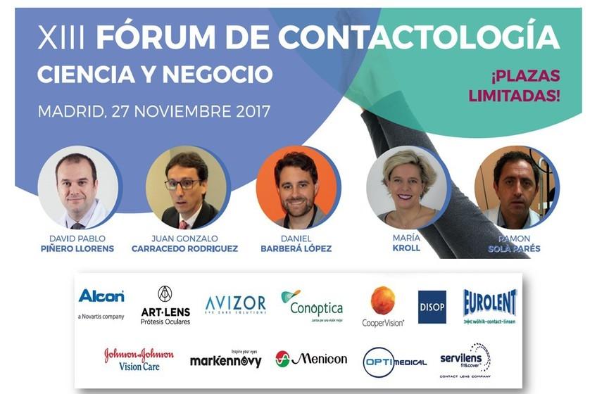 Invitación al Forum de Contactología 2017