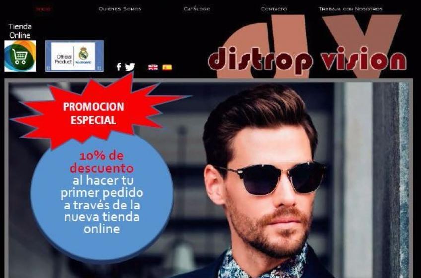 Distrop Visión presenta su nueva tienda Online para profesionales