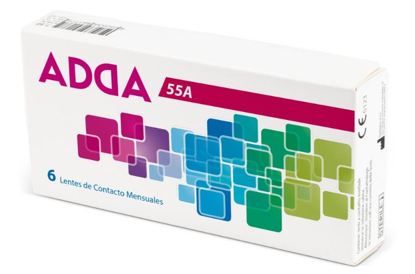 Lente de Contacto Adda 55A