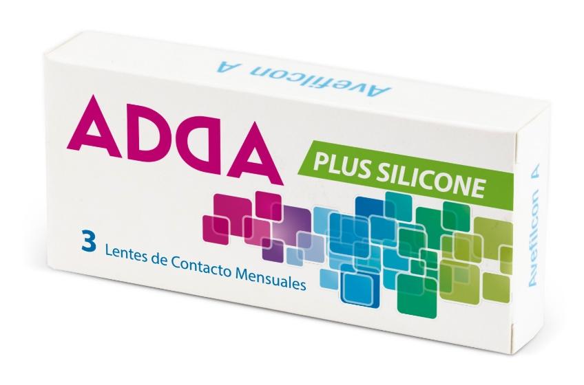 Lente de Contacto Adda Plus Silicone