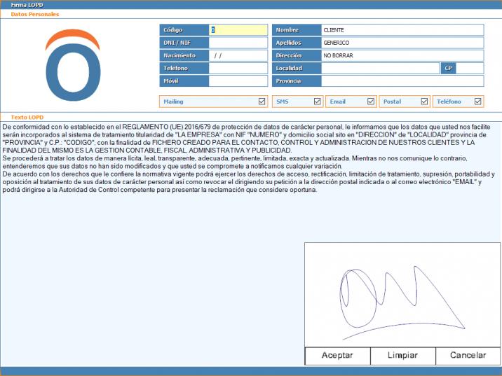 2 - Firma digital RGPD