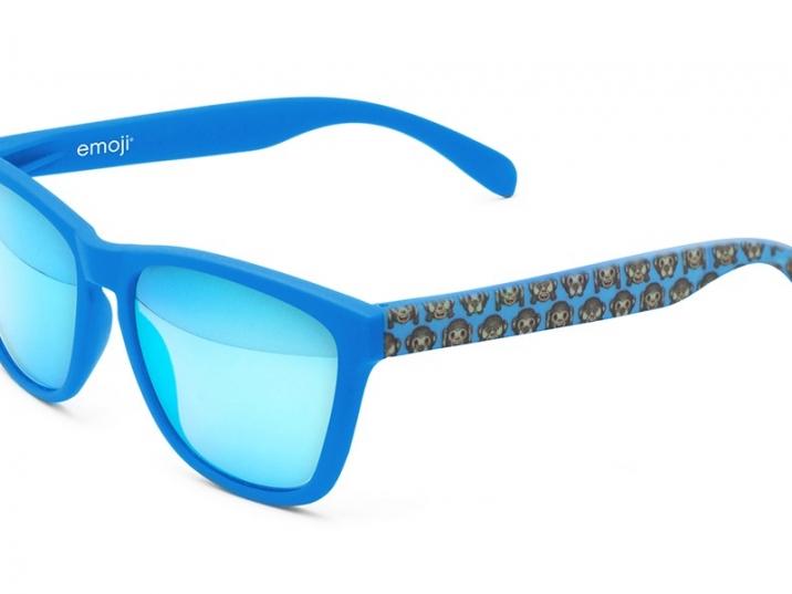Rubber blue Monkey warhol ice blue